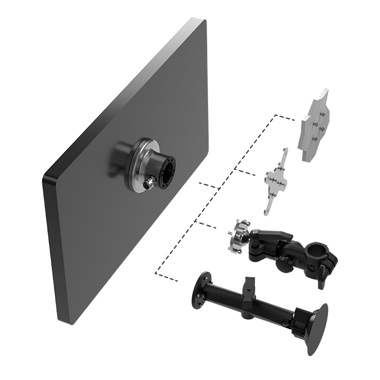 Multi-use Attachments for  JSmart715 and 721